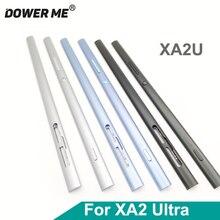 Metal yan kısmı kenar çubuğu orta çerçeve şasi çerçeve ile güç ses düğmeleri Sony Xperia XA2 Ultra XA2U H4233 h4213 6 inç