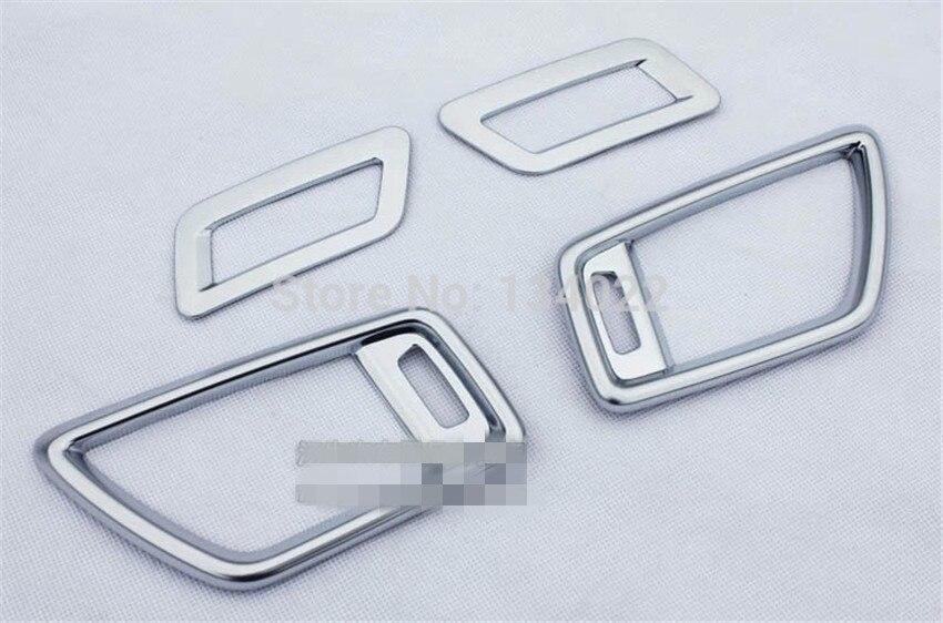 ABS хромированные автомобильные наклейки передней части кондиционера хромированные украшения для- Nissan x-trail T32