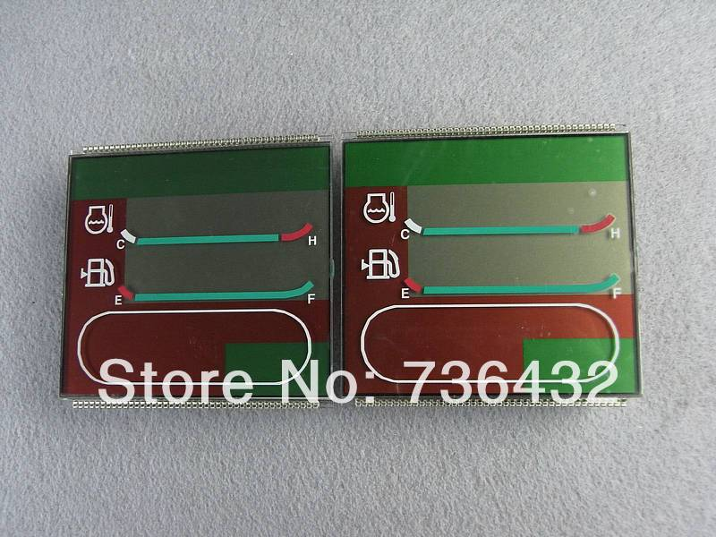 Free shipping! PC-6 single time lcd tablets Komatsu- liquid crystal film - excavator display screen - excavator accessories image