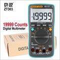 RZ ZT303 19999 отсчетов Цифровой мультиметр NCV частота 200 м сопротивление автоматическое отключение переменного/постоянного напряжения Ампермет...