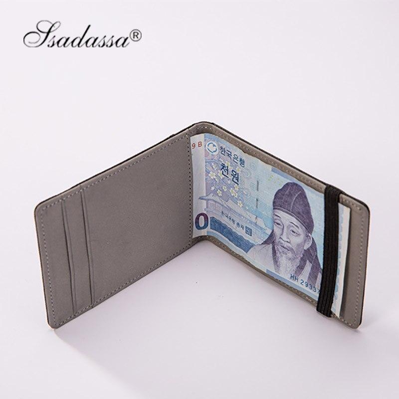 Koreanska Pengar Clip Wallet Elastic vintage plånbok mode nya 2018 - Plånböcker - Foto 5