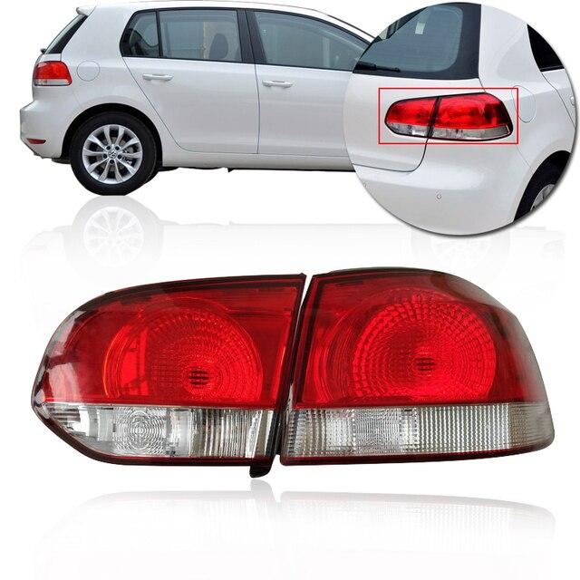 Capqx Rear Brake Light Tail Stop Warning Taillight Taillamp For Volkswagen Vw Golf 6 2009 2010 2017