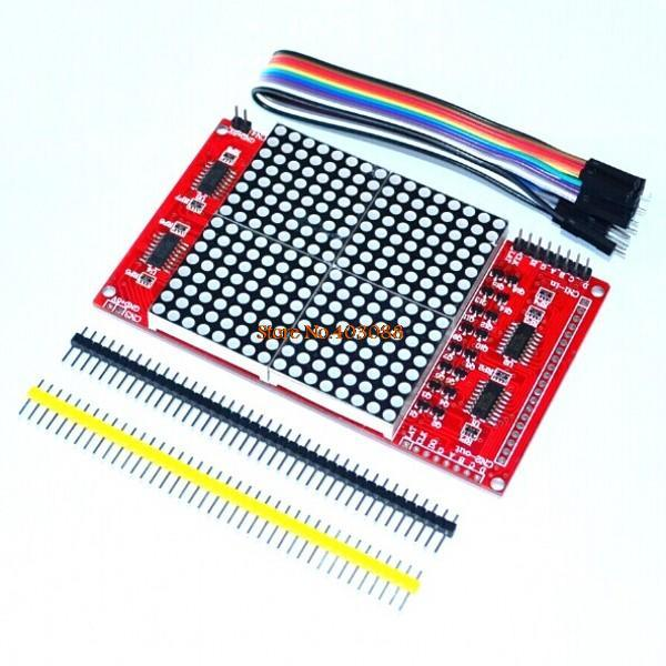 LED dot matrix display module 16*16 unlimited cascading / 51 development board / 12864 compatible interfaces for arduino