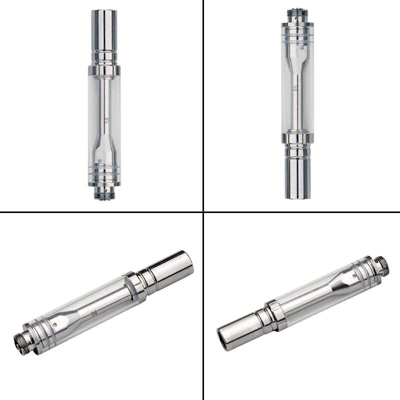 10Pcs/Lot 0.5ml 0.8Ml 1.8Ohm Ceramic Atomizer Tank For O Pen Electronic Cigarette Pyrex Glass Vaporizer E Sigaret Thick Oil Vape