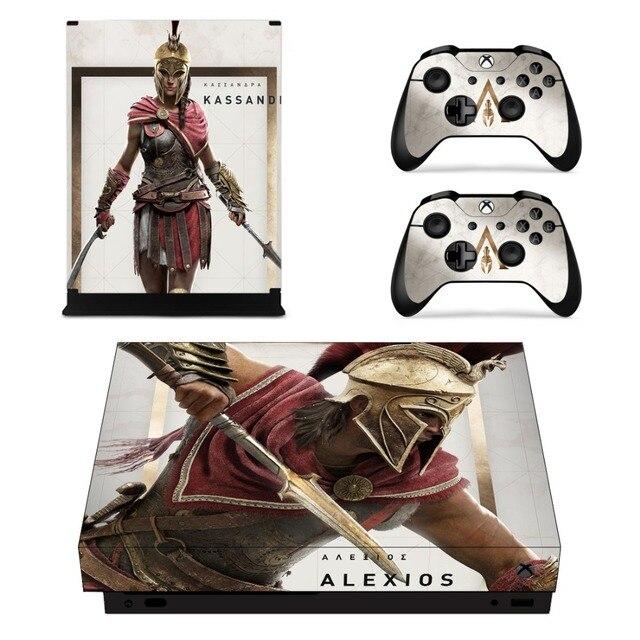 Assassins Creed Odyssey Skin Sticker For Xbox One X
