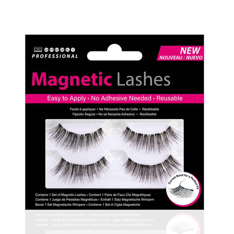 f18f9ac6f1a ... Shozy Magnetic eyelashes with 4 magnets handmade 3D magnetic lashes  natural false eyelash magnet lash with ...
