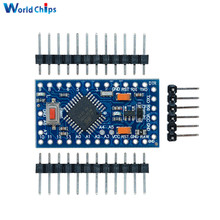 Free Shipping Pro Mini Atmega328 3.3V 8Mhz Board Module for Arduino Mini 328 Controller With Pins Replace Atmega128 In Stock(China)