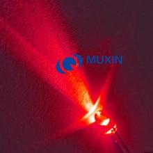 50 шт. 3 мм RGB Быстрый мигающий светодиодный 3 мм триколор Круглый прозрачный 20 мА DC 3 в светодиодный светильник излучающий диод многоцветное мерцание