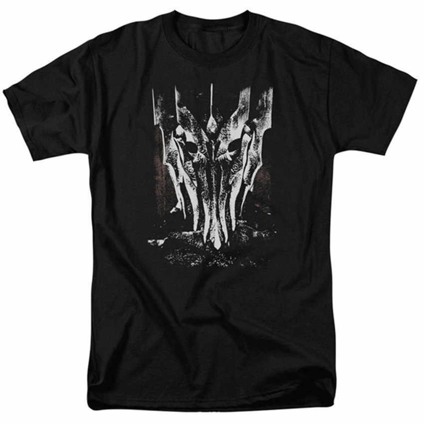 Властелин колец большой Саурон лицензионный, для взрослых полная фигурная футболка Властелин колец большой Саурон лицензированный