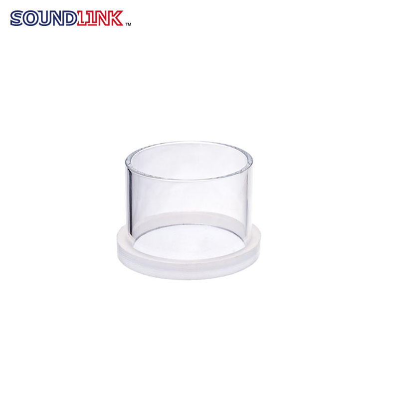 Small size transparent making ear model use casting ring with removable bottom part