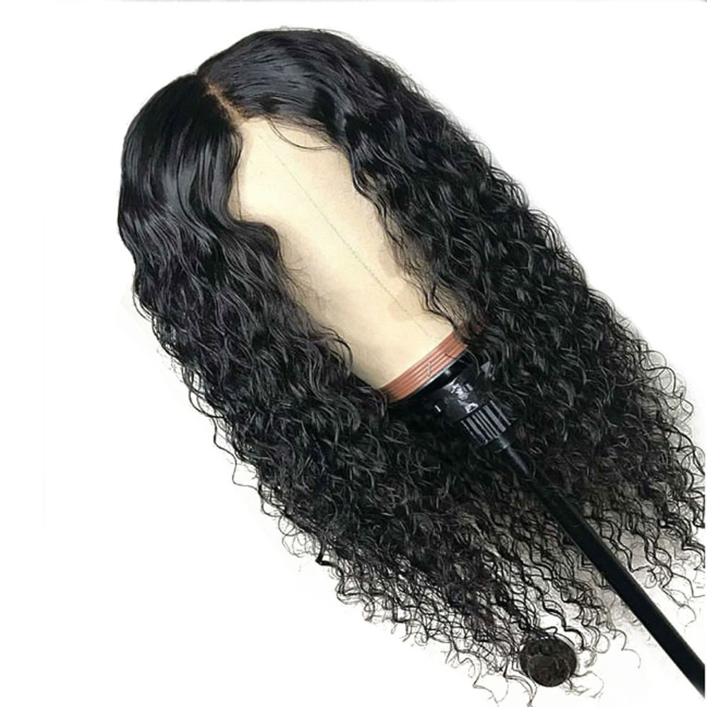 13*6 Deep Part Curly Lace Front Human Hair Wigs Pre Plucked Brazilian Remy Hair Wig With Baby Hair For Black Women 130% Density Modern Techniques