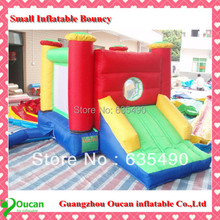 PVC 3.5x2x2m tarpaulin inflatable bouncers with slide for kids and baby