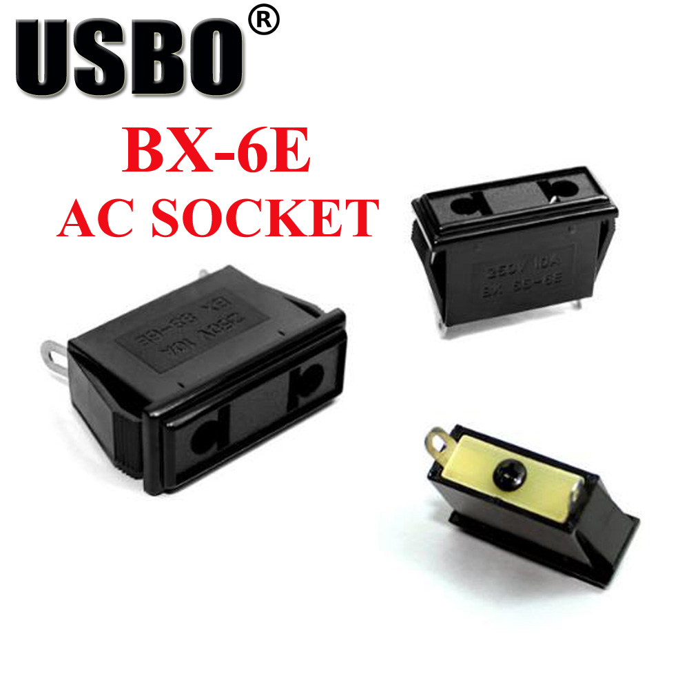 цена на Black industry multi-functional outlet 2 pins Elcectrical 250V 10A US EU universal AC power socket America Europe