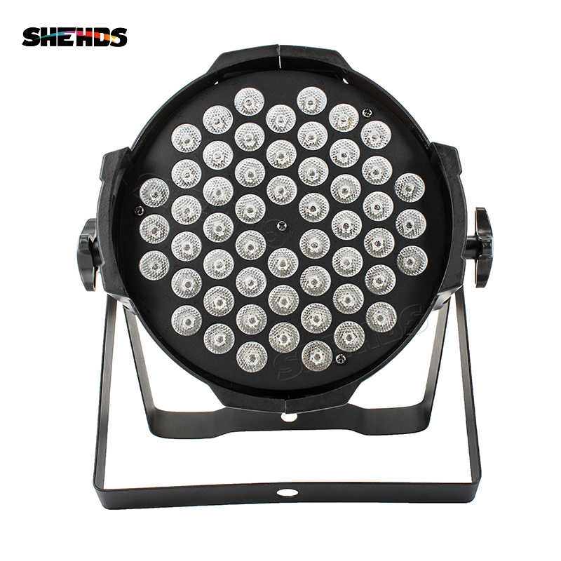 10pcs/lot Aluminum Alloy LED Par 54x9W RGB LED Lighting DMX512 Projector Floodlight Can Wash DJ Stage Light Lighting Projector