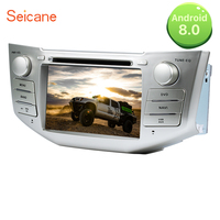 Seicane 7 inch 2din Android 8.0 In Dash DVD Multimedia GPS Radio for Toyota Harrier lexus rx300 330 350 support OBD2 3G WIFI SD