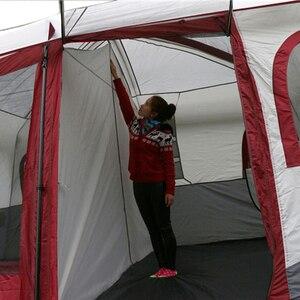 Image 5 - גדול משפחת קמפינג אוהלי בקתת חיצוני אוהל עבור 8 10 12 אדם אירוע Marquee אוהלי