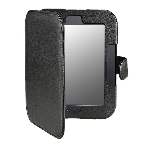 CAA-Hot Leather Case for Barnes and Noble Nook Simple Touch with GlowLight ...