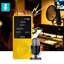 Высокое качество HIFI MP3-плееры 8 ГБ Поддержка fm Радио Запись карты памяти SYN LRC видео мини Портативный MP3-плееры S для Бег спортивные