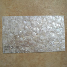 AA grade white mother of pearl laminate sheet mosaic pattern shell paper for wood furniture inlay 140x240mm  (20 sheets)