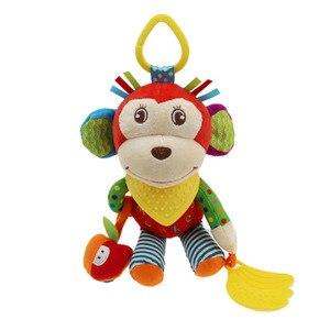 Детская многофункциональная плюшевая кукла Skk с мультипликационным принтом для новорожденных, удобная плюшевая кукла, Детская плюшевая иг...