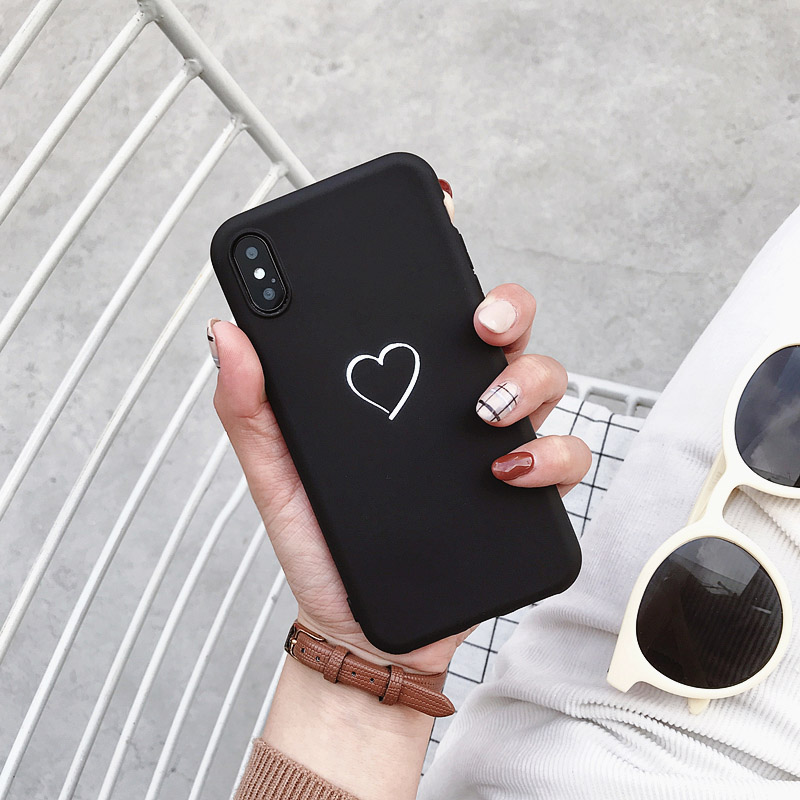 Soft Slim Cover For Xiaomi Mi 5 5S 5X 6 6X 8 Lite 9 SE 9T Pro A1 A2 A3 Lite Play Case Cute Love Heart Coque