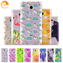 Ellicago Unicorn Cat Case For Xiaomi Redmi Note 4X Case Silicon Case Cover for Xiami Xiomi Redmi Note 4X Cases Redmi Note 4X(China)