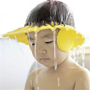 Hat Cap Shower-Cap Bath-Visor Safe Adjustable Waterproof Baby Kids Children Protect-Eyes-Hair