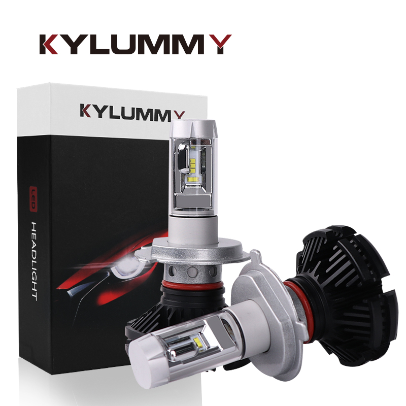 Headlight Bulbs LED H4 H7 H11 H1 H3 880 9005 9006 H13 ZES LED Hi-Lo Beam DC12V 24V 50W 12000Lm Car Headlamp Front Fog Lights ...