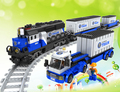 AUSINI 25111 Train Series model Building Blocks Educatiol Assembling Blocks Hot Toy for Kids blocks bricks