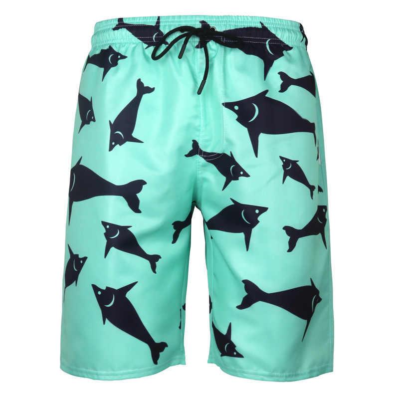 Impressão 3d shorts de bordo dos homens verão calções de banho dos homens troncos de natação secagem rápida praia bermuda surf maiôs dos homens