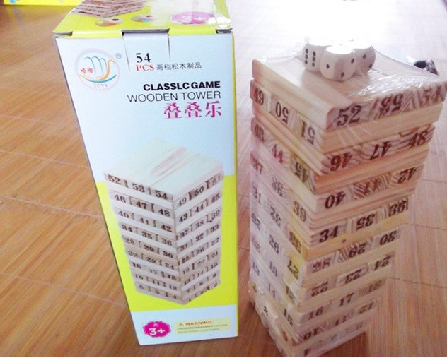 Candice guo wooden toy wood block classic Jenga game tower stacking pumping extraction adult children educational gift 54pcs/set дефлекторы окон skyline nissan primera p10 sd 90 97 комплект 4шт sl wv 300