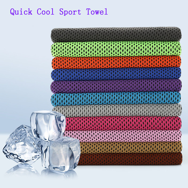 Cooling Towel Utility Enduring Microfiber Fabric Instant Cool Quick-Dry Reusable Chill Face Ice Towel