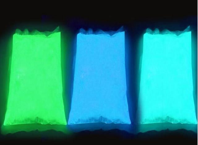 Glowในผง 50 กรัม/ถุงเรืองแสงSuper Bright Glow In The Dark Powder Glow Pigment