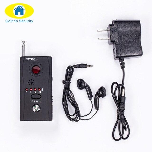 Golden Security Wireless FNR Full-frequency  GSM Device Finder Camera Laser Lens Bug Detecter RF Signal Detector
