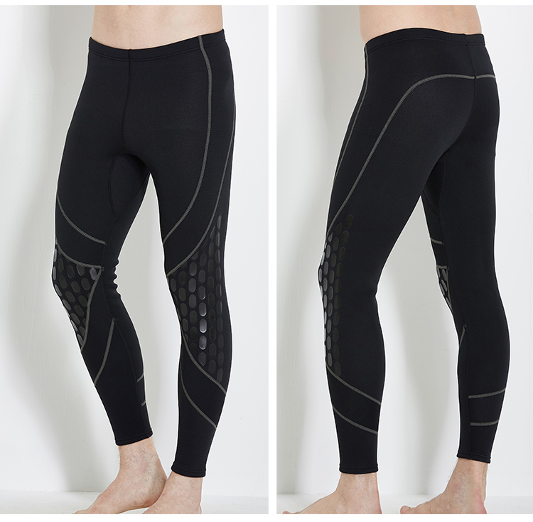 2017 NEW Neoprene 1.5mm soft and comfortable diving long pants for men