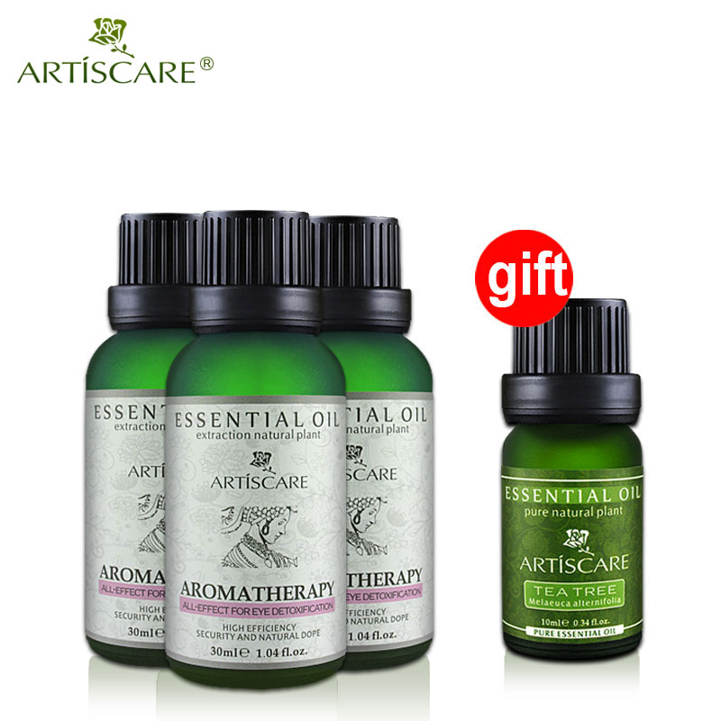 buy 3 get 1 gift beauty eye essential oil for dark circles ...