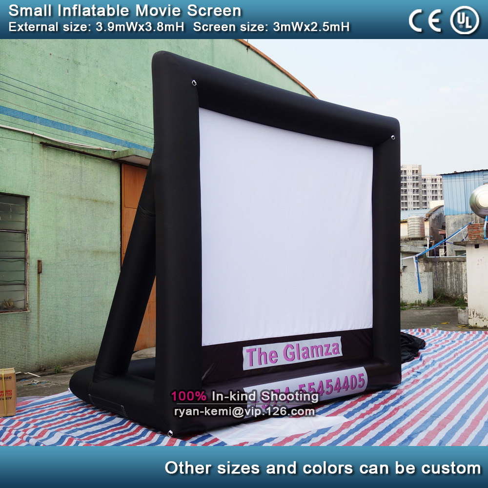 3m small inflatable movie screen with blower outdoor backyard cinema screen inflatable TV projective Inflatable Film Screen 3m small inflatable movie screen with blower outdoor backyard cinema screen inflatable TV projective Inflatable Film Screen