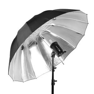 "Image 3 - Godox 150cm 60"" Inch Black and silver Umbrella Photography studio umbrella For Is helpful in professional studio shooting"