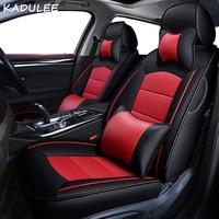 KADULEE пользовательские настоящие кожаные сиденья для audi a1 a3 a4/a4l a5 a6/a6l a7 a8/a8l q3 q5 q7 R8 TT чехлов сидений автомобилей