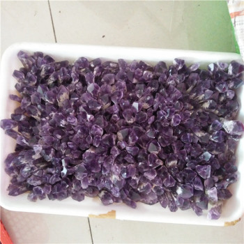 Natural amethyst crystal bullet quartz point wand for sale