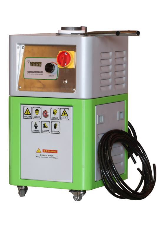 Mini Induction 2kg gold smelting machine Melting Furnace Heating Metals jewelry equipment