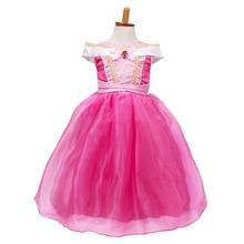 Short Sleeve Baby Girl Dress Cute Birthday Dress Kids Party Halloween Costume Clothes Kids Dress Pink Princess Dresses Summer
