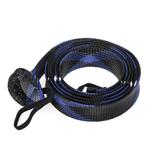 Rod Sock Fishing Rod Sleeve Rod Cover Braided Mesh Rod Protector Pole Gloves Fishing Tools for Casting Sea Fishing Rod fishing rod cover pet mesh anti scratch protector pole portable storage protection sleeve universal elastic stretch professional
