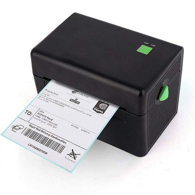 GZL4001 Pos alta calidad 108mm 4 pulgadas etiqueta térmica impresora de código de barras puerto USB para la entrega logística Waybill software libre