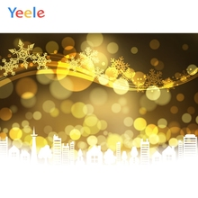 Yeele Wallpaper Party Gold Glitter Bokeh Lights City Photography Backdrop Personalized Photographic Backgrounds For Photo Studio