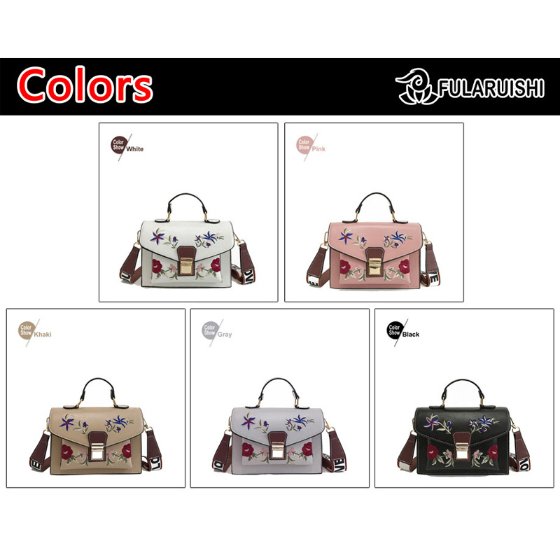 Fularuishi 2019 New HandBags Lady Pu Leather Printing Women Bags Fashion Shoulder Bags Female Design Bags 3