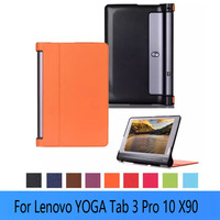 For 2015 Lenovo Yoga Tab 3 10 Pro Tablet Ultra Thin Smart PU Leather Stand Cover