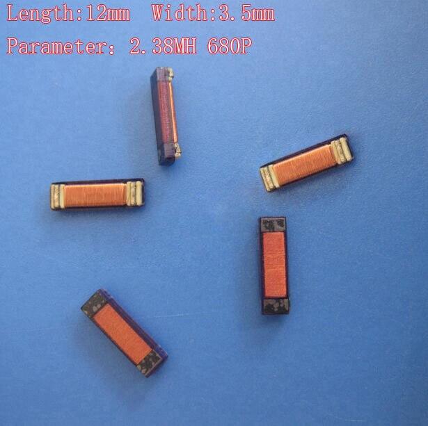 Chip transpondedor de bobina de inductancia remoto para llave de coche para bobina de transpondedor Peugeot para Citroen Renault