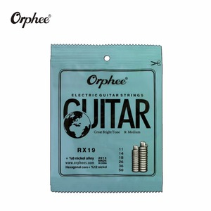 Image 4 - free shipping 10 pcs orphee guitar strings RX15 RX17 RX19 electric guitar strings super light