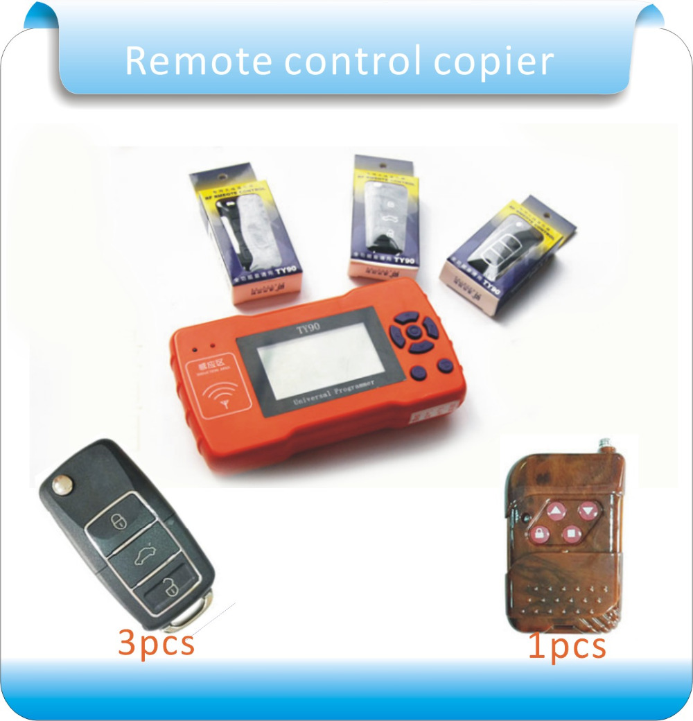 Free shipping master counter remote control copier &4pcs remote control, counter remote master key English ver programmer